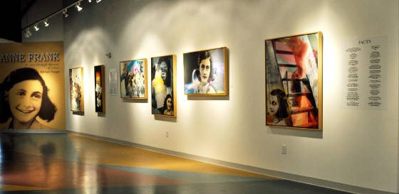 Chai Lights & Anne Frank Exhibitions Oct 19 – Jan 31, 2015