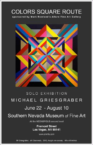 Colors Square Route Michael Griesgraber June 22 – Aug, 10, 2013